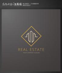 简约地产建筑标志 EPS