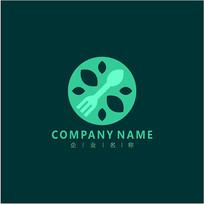 餐饮 西餐 美食 标志 logo