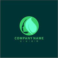 侧脸 美容 自然 标志 logo CDR