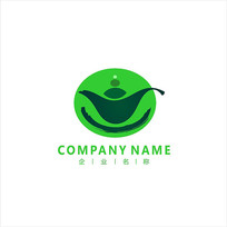 茶壶 健康 标志 logo CDR