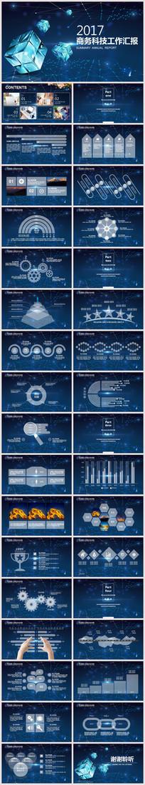 大气星空科技商业计划PPT