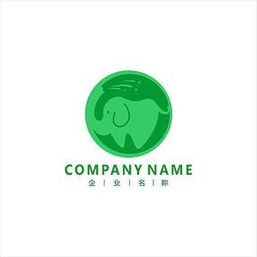 大象 标志 logo