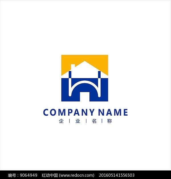 房子 家装 标志 logo