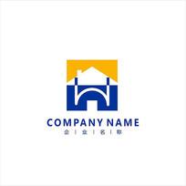 房子 家装 标志 logo CDR