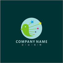 飞鸟 教育 培训 标志 logo