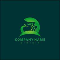 凤凰 自然 标志 logo CDR