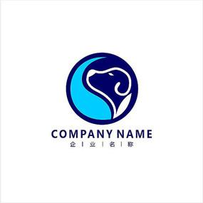 狗 宠物 兽医 标志 logo
