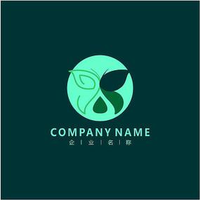 蝴蝶 美容 女性 标志 logo