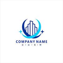 建筑 科技 标志 logo CDR