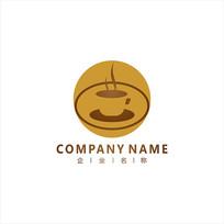 咖啡 餐饮 标志 logo
