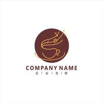 咖啡 餐饮 音乐 标志 logo
