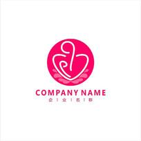 母婴 亲子 产后 标志 logo