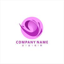 女性 美容 减肥 标志 logo