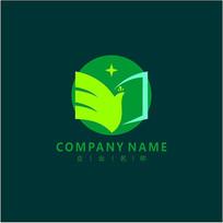 书本 标志 logo CDR