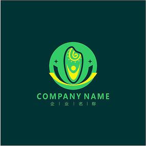 水稻 大米 农业 标志 logo