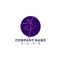 舞蹈 芭蕾 瑜伽 标志 logo