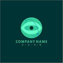 眼睛 视力 传媒 标志 logo
