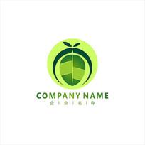 叶子 农业 水果 标志 logo CDR