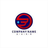 字母B 投资 金融 标志 logo CDR