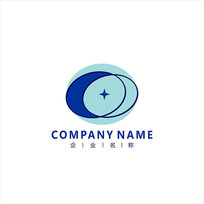 字母C 电子 科技 标志 logo