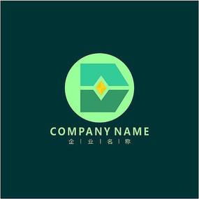 字母D 投资 科技 标志 logo