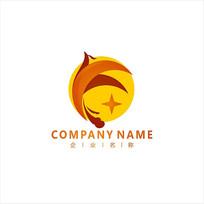 字母F 凤凰 资金 标志 logo CDR