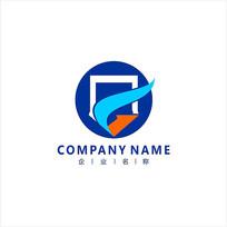 字母G 金融 投资 标志 logo
