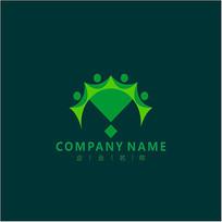 字母M 金融 标志 logo