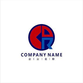 字母R 金融 股票 标志 logo