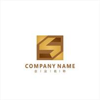 字母S 金融 投资 标志 logo CDR