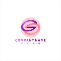 字母S 女性 标志 logo CDR