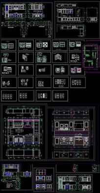 橱柜设计CAD图
