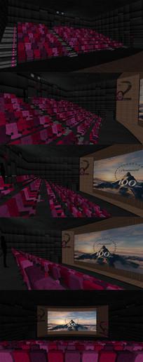 电影院影视厅