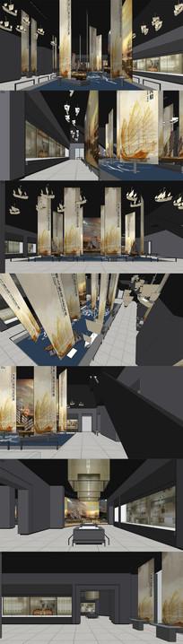 海上丝绸之路展厅设计