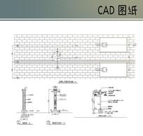 景观灯CAD详图 CAD