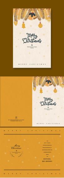 精美创意圣诞节祝福贺卡
