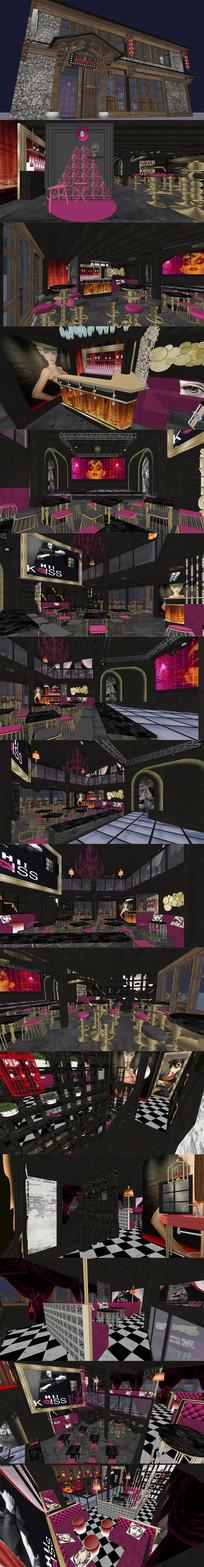 丽江酒吧设计SU模型