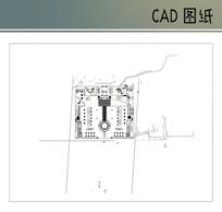 某公园景观总平 CAD
