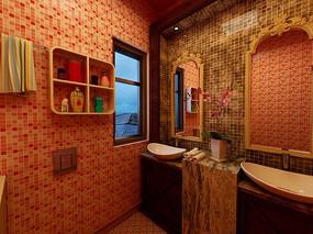欧式卫生间设计
