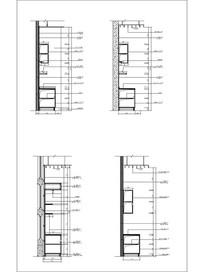 四款柜子CAD立面图
