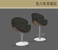 现代马桶式坐凳