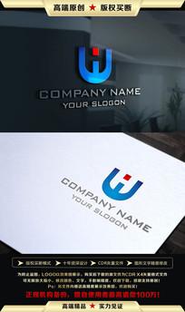 W字母LOGO设计 CDR
