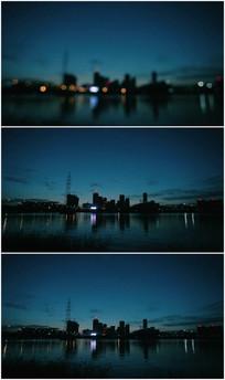 城市夜景视频素材
