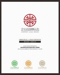 金融银币投资理财企业标志