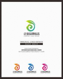 绿色保健品茶叶茶品牌标志
