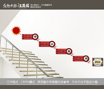 校园国学楼梯文化墙