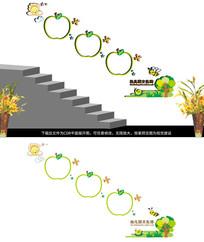 幼儿园梯道文化展板