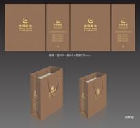 中国黄金高档珠宝手提袋