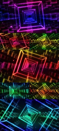 酷炫动感科技感LED舞台