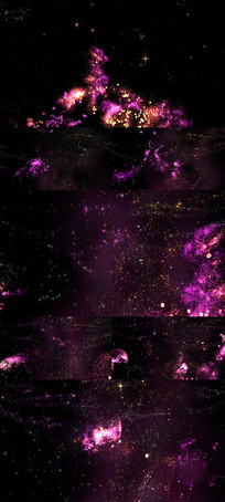 梦幻星空粒子LED舞台
